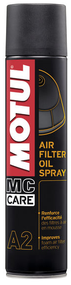 MOTUL olej na vzduchové filtre MC CARE A2 AIR FILTER OIL SPRAY