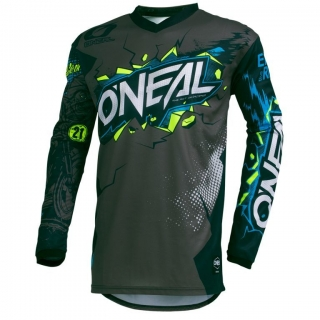 ONEAL MX a MTB dres Element VILLAIN sivý
