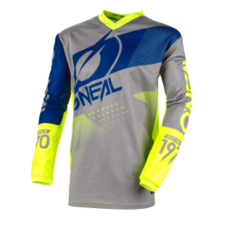 ONEAL MX a MTB dres Element FACTOR siva/žltá